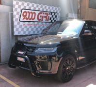 "Elaborazione Range Rover Sport V8 Hdi ""Vetta assoluta"""