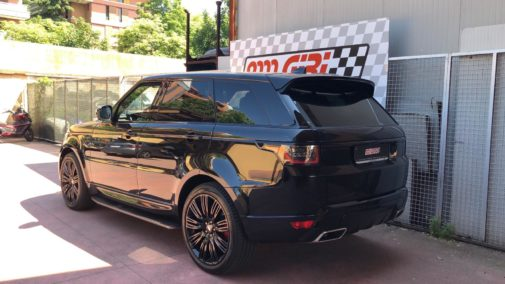 Range Rover Sport V8 Hdi powered by 9000 Giri