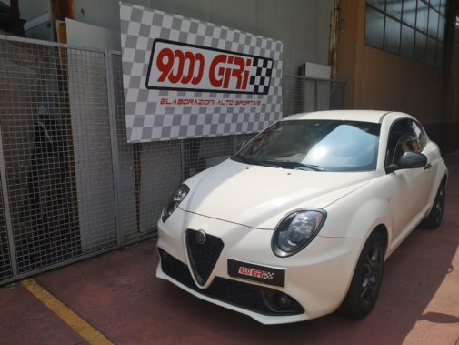 Alfa Mito 1.4 8v powered by 9000 giri