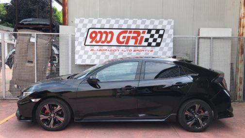 Honda Civic Vtec 1.5 turbo powered by 9000 Giri