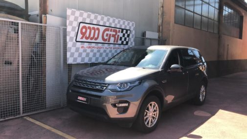 Land Rover Discovery 2.0 tdi powered by 9000 Giri