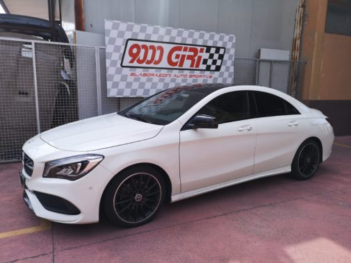 Mercedes Cla 2.2 cdi powered by 9000 Giri