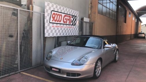 Porsche Boxter 986 2.5 powered by 9000 Giri