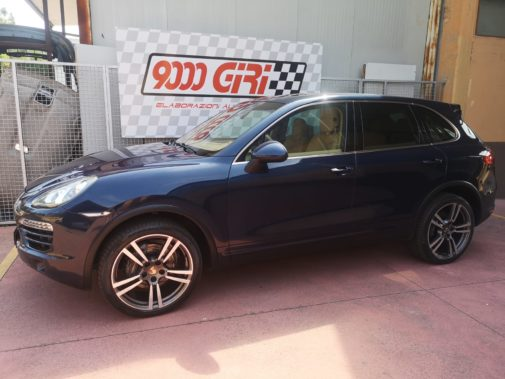 Porsche Cayenne 3.0 d powered by 9000 Giri