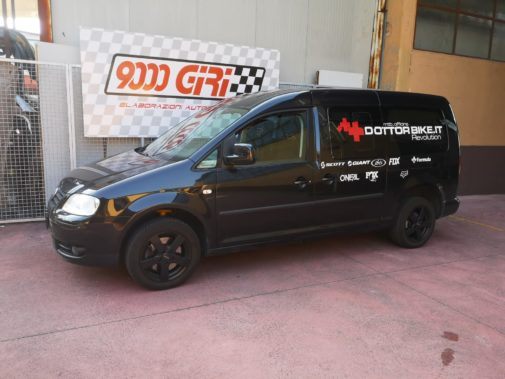 Vw Caddy 1.9 tdi powered by 9000 Giri