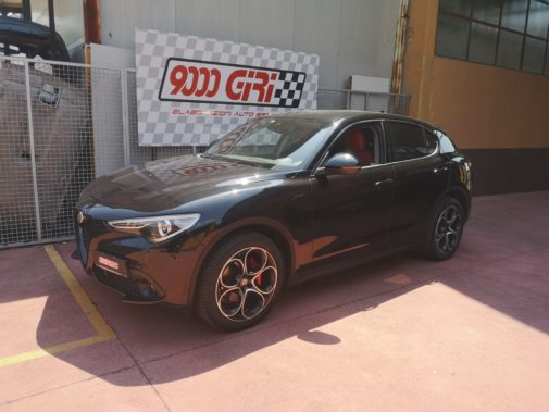Alfa Stelvio 2.2 td powered by 9000 Giri