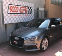 "Elaborazione Audi A3 Sportback 2.0 tfsi ""Short track"""
