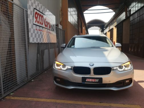 Bmw 316d Touring powered by 9000 Giri