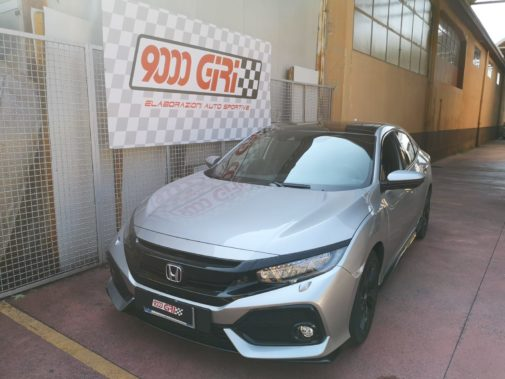 Honda Civic 1.5 tb powered by 9000 Giri