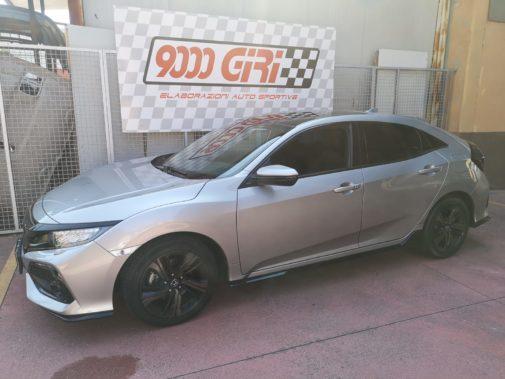 Honda Civic 1.5 tb powered by 9000 Giri