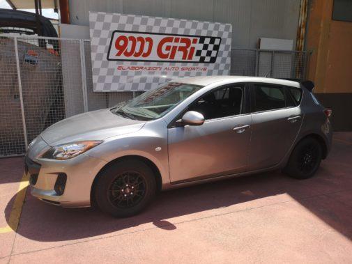 Mazda 3 1.6 powered by 9000 Giri