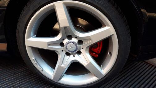 Mercedes Slk 220 cdi powered by 9000 Giri