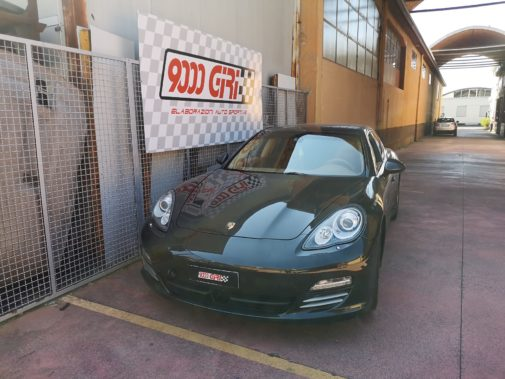 Porsche Panamera 3.0 d powered by 9000 Giri