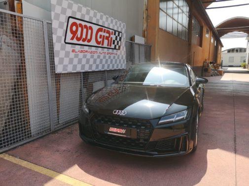 Audi TT 45 tfsi powered by 9000 Giri
