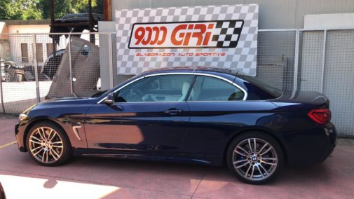 Bmw 440i cabrio powered by 9000 Giri