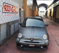 """Elaborazione Fiat 500 Abarth """"Il sole all'orizzonte"""""""