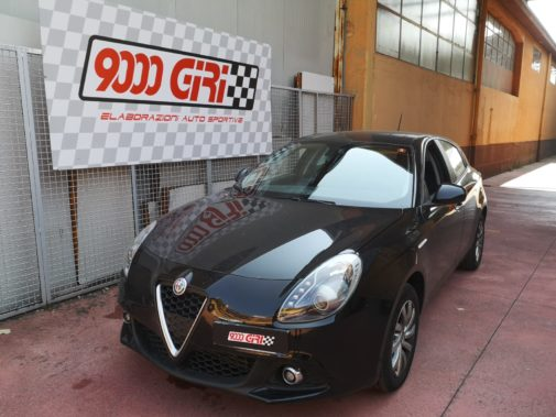 Alfa Romeo Giulietta 1.4 Tjet powered by 9000 Giri