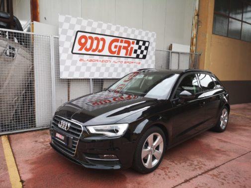 Audi A3 1.5 tsi powered by 9000 Giri