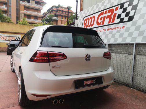 Vw Golf 7 2.0 gtd powered by 9000 Giri