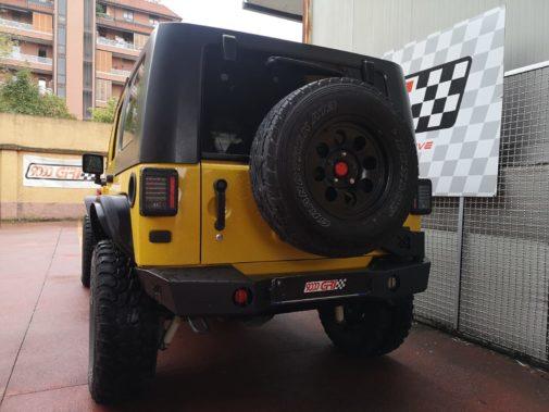Jeep Wrangler Jk 3.8 V6 powered by 9000 Giri