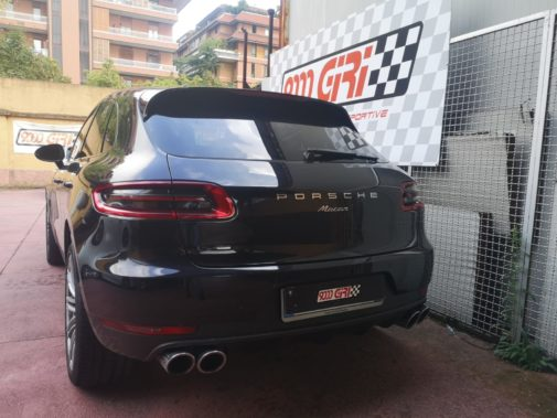 Porsche Macan 3.0 td powered by 9000 Giri