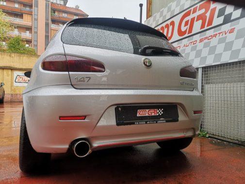 Alfa Romeo 147 1.6 16v powered by 9000 Giri