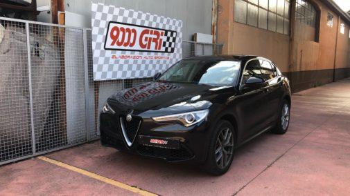 Alfa Romeo Stelvio 2.0 tb powered by 9000 Giri