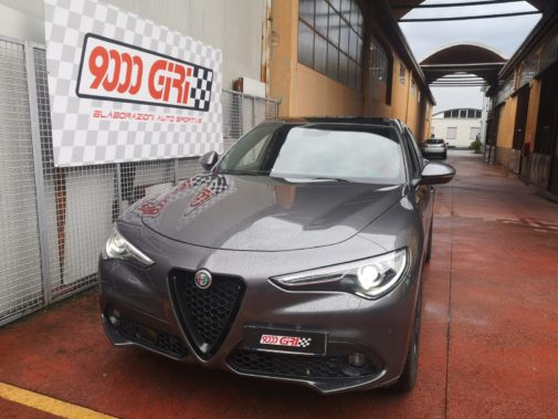 Alfa Romeo Stelvio 2.2 td powered by 9000 Giri