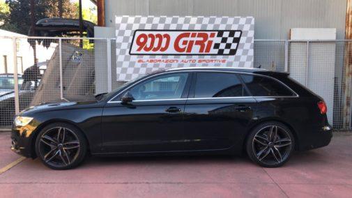 Audi A6 3.0 tdi Avant powered by 9000 Giri