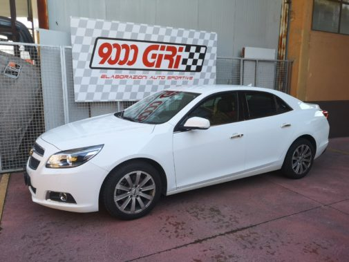 Chevrolet Malibu 2.0 td powered by 9000 Giri