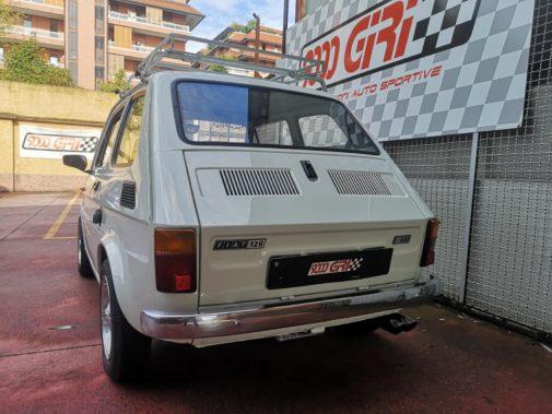 Fiat 126 powered by 9000 Giri
