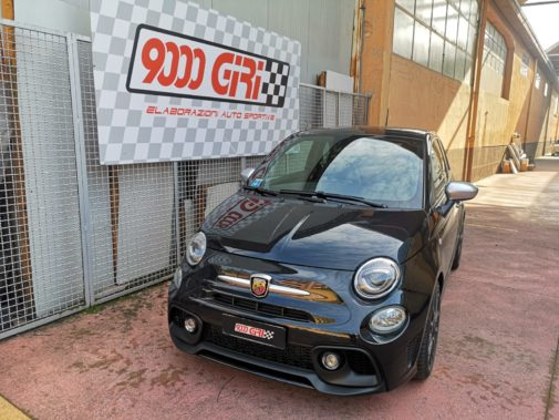 Fiat 500 Abarth 595 1.4 Tjet powered by 9000Giri