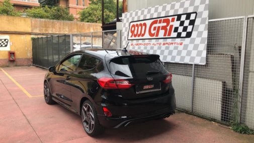 Ford Fiesta 1.5 St powered by 9000 Giri