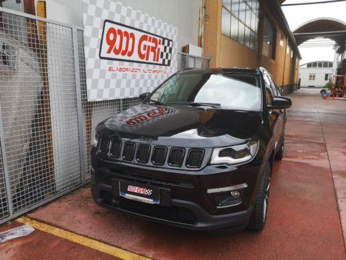 Jeep Compass 1.6 jtdm powered by 9000 Giri