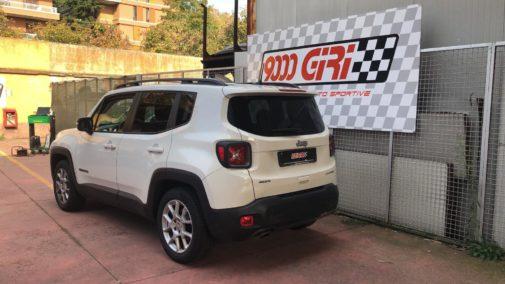 Jeep Renegade 1.6 Mjet powered by 9000 Giri