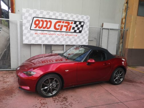 Mazda Mx 5 2.0 powered by 9000 Giri