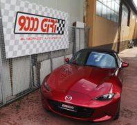 """Elaborazione Mazda Mx 5 2.0 nc """"Strepitosa"""""""