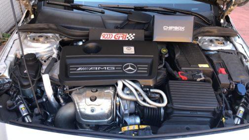 Mercedes A 45 Amg powered by 9000 Giri