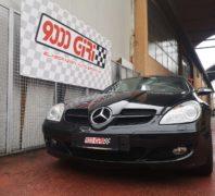 """Elaborazione Mercedes Slk 350 V6 """"Gagliarda"""""""