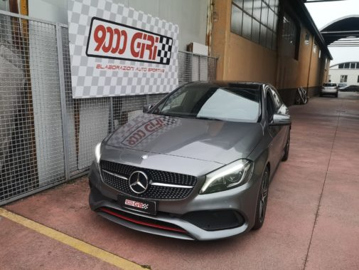 Mercedes classe A250 powered by 9000 Giri