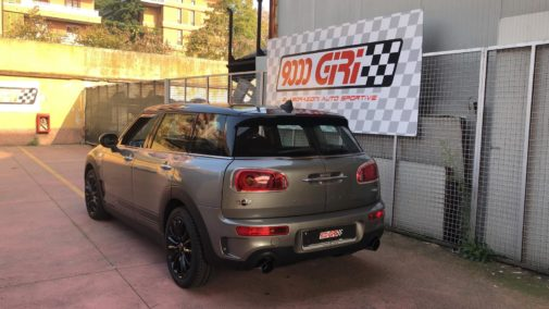 Mini Cooper S Clubman powered by 9000 Giri