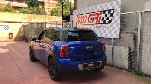 Mini Countryman 1.6 td powered by 9000 Giri