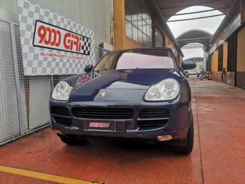 Porsche Cayenne 3.2 powered by 9000 Giri