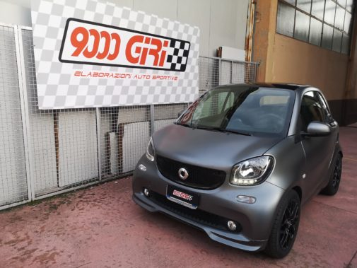 Smart Fortwo 453 1.0 Turbo powered by 9000 Giri