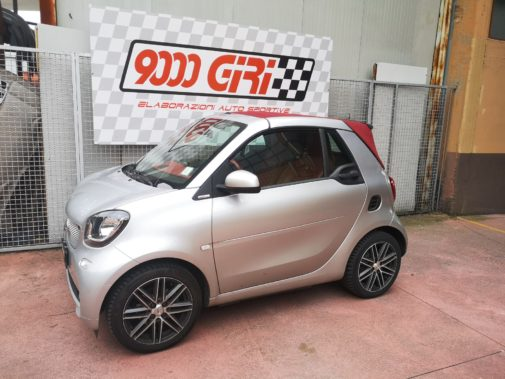 Smart ForTwo 453 900 Turbo powered by 9000 Giri