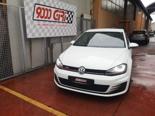 Vw Golf 7 Gti powered by 9000 Giri