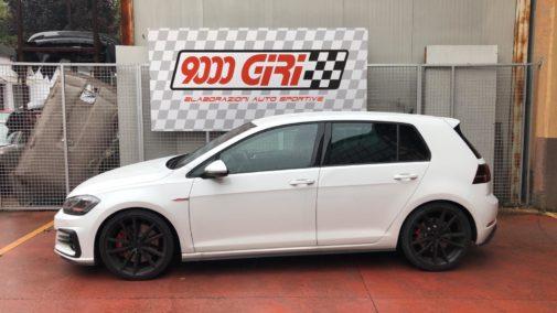 Vw Golf gti performance powered by 9000 giri