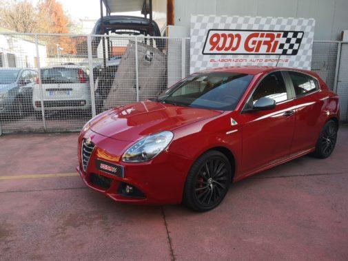 Alfa Romeo Giulietta 1750 tb powered by 9000 Giri