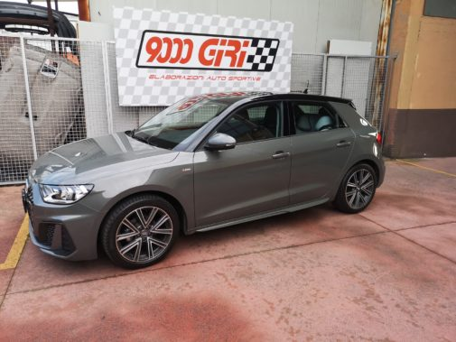 Audi A1 1.0 tfsi powered by 9000 Giri