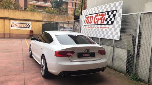 Audi A5 3.0 tfsi powered by 9000 Giri